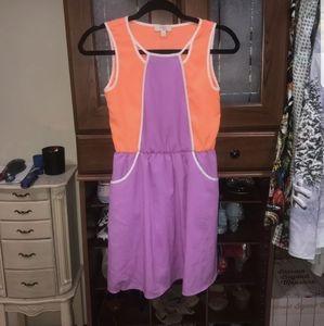 GB girls colorblock Dress size large